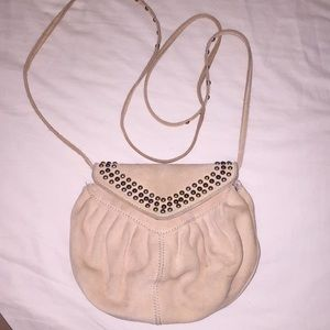 H&M Blush Studded Crossbody Bag